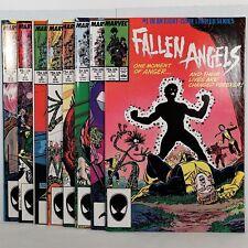 Fallen Angels - Nos. 1 thru 8 - Marvel Comics Group - Apr to Nov '87 No Reserve!