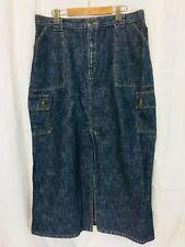 Bullet Jeans Denim Jean Pencil Skirt. Women's. Size 16