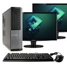 Dell 7010 Desktop Computer Intel i7 8GB RAM 1TB Dual 17
