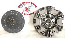 F5189875 2 PLATE CLUTCH FOR CASE / CASE IH / FORD NEW HOLLAND INCLUDES PTO DISC