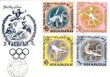 FDC - Sharjah - Olympic Games - Tokio 1964 (2383)