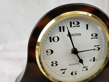 Bulova quartz japan table / mantel clock