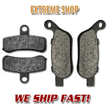 Harley F+R Brake Pads Dyna Switchback SuperGlide Wide Glide Street Bob Low Rider