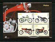 V886  Portugal  2007  motorcycles     sheet   MNH