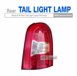 OEM Parts Rear Tail Light Lamp Assembly Right for SSANGYONG 2013 - 2017 Rexton W