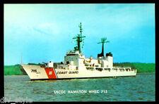 USCGC Hamilton WHEC-715 postcard  US Coast Guard High Endurance Cutter (2of3)