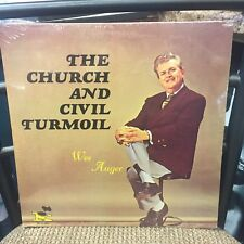 The Church and Civil Turmoil Wes Auger LP New Sealed King of Kings Baptist