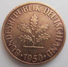 Alemania 10 Pfennig 1950 J