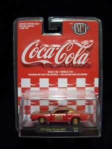M2 Machines Coca Cola 1971 Dodge Charger Hemi Limited Edition.