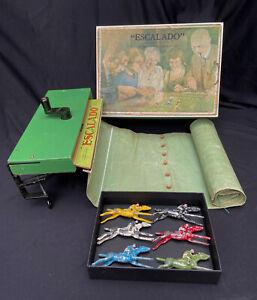 Vintage Escalado Horse Racing Game