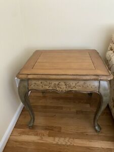 Fortunoff Country French Hand Painted End  Table