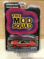 Greenlight Hollywood 1:64 Die Cast The MOD Squad 1970 Plymouth GTX Red CHASE