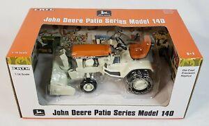 1/16 Ertl John Deere Patio Series Model 140 Sunset Orange Precision with Blower
