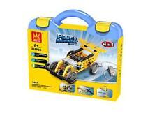 Power Machinery  Racing Car 4 in 1 Building Blocks Bricks Set- Wange