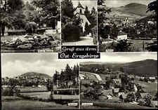 Gruss aus dem Ost-Erzgebirge DDR Mehrbild-AK ua. Ort Altenberg Geising Bärenfels