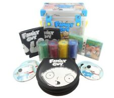 Family Guy Freakin' Party Pack Volumes 1-5 DVD Ping Pong Poker Cards Box Set NEW