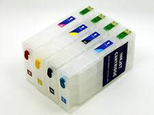 Refillable Ink Cartridge fits Epson WorkForce Pro WF5110DW WF5190DW (NON-OEM)