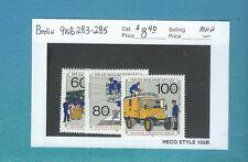 Berlin  - Scott 9NB283-285  (Post and Telecommunications)  MNH