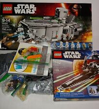 Lego Star Wars Transporter (75103) Near Complete plus 7915 V Wing Fighter Sealed