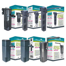 All Pond Solutions Aquarium Internal Submersible Filter Range for Fish Tanks NEW