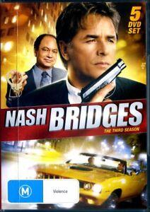 Nash Bridges : Season 3 - DVD - Region 0
