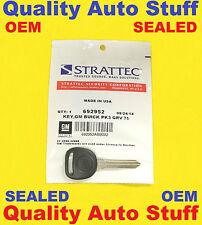 NEW OEM SEALED Buick Logo Transponder Chip Key Blank PK3 75 GRV B99-PT 692952