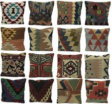 NEW - Luxury Wool Turkish Moroccan Colourful Kilim Cushion Covers