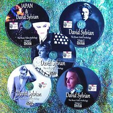 Pin & FREE JAPAN & DAVID SYLVIAN Music Video Collection 5 DVD Set 8.5 Hr 71 Vids