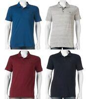 NWT Men's ROCK & REPUBLIC Iconic POLO Collar Short Sleeve Shirt Black Red Blue