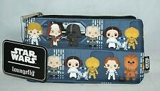 Star Wars - Death Star Chibi Print Zip Pouch New with the tags Loungefly