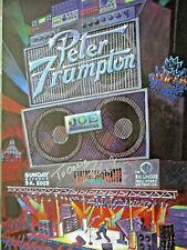 PETER FRAMPTON 1995 Fillmore concert poster