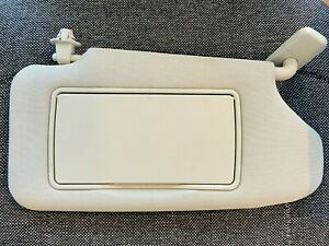 2008-2013 Nissan Altima Coupe Sun Visor Right Passenger Side Gray 96400ZX10A