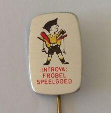 Introva Frobel Speelgoed Childrens Retro Toy Brand Pin Badge Vintage (N19)