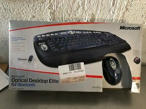 MICROSOFT OPTICAL DESKTOP ELITE BLUETOOTH KEYBOARD and MOUSE