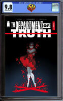 Department of Truth 1 Andolfo 1:50 Variant  CGC 9.8  9/30/20 James Tynion