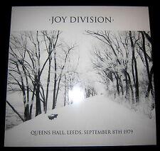 JOY DIVISION Queens Hall, Leeds, September 8th 1979 - LP / Black Vinyl - Limited