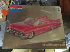 1959 Cadillac Convertible  1/25 scale model Kit