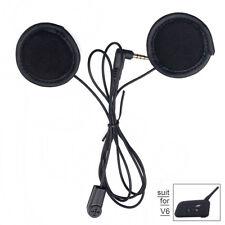 Helmet Soft Cable Headset Mic Speaker For V6 Motorcycle Bluetooth Intercom