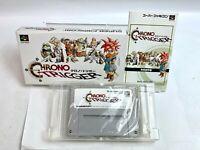 CHRONO TRIGGER Nintendo Super Famicom SNES Boxed w/manual Japan Fedex