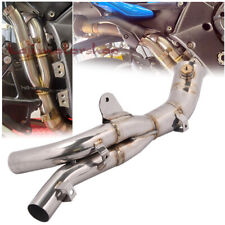 Motorcycle Exhaust Muffler Mid Link Pipe Under tail For Yamaha YZF R1 2009-2014