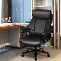 Big & Tall 400 lbs Massage Office Chair Executive PU Leather Computer Desk Chair