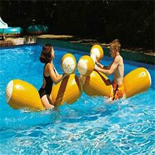 4pcs Pool Joust Set FLOAT Game Inflatable Swim Gladiator PARTY Duel BATTLE LOGS