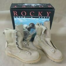 ROCKY 790G ACU TEMPERATE WEATHER DESERT TAN GORE-TEX LEATHER COMBAT BOOTS