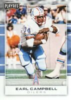 2017 Playoff Football #182 Earl Campbell Houston Oilers