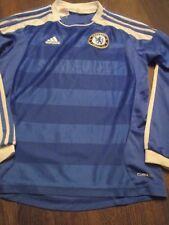Chelsea 2011-2012 LS Home Football Shirt 11-12 Years Kids /43195