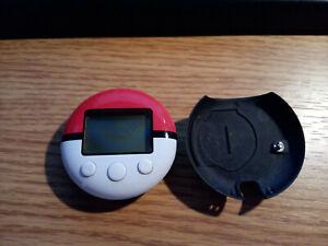 Pokemon Pokewalker with Clip needs batteries. Heartgold Soulsilver.