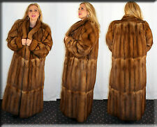 New Golden Russian Sable Fur Coat Size Extra Large 14 16 XL Efurs4less
