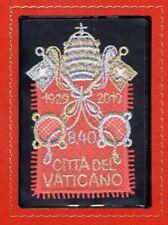 2019 Vaticano - Francobollo da € 8.40 in Stoffa - 90° Fondazione 1929-2019 MNH**