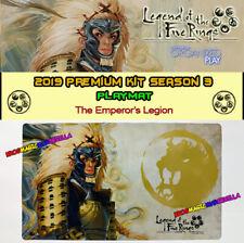 L5R LEGEND OF THE FIVE RINGS - 2019 PREMIUM KIT S3: Playmat The Emperor's Legion