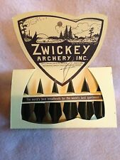 Zwickey EskiLite Broadhead  2 blade Glue on  110grs  5/16ths